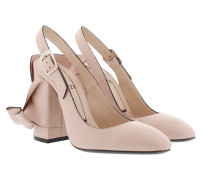 Iconic Bow Pumps Nude/Nera