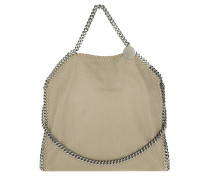Falabella Shaggy Deer Fold Over Tote Stone