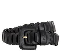 Gürtel Woven Belt Black