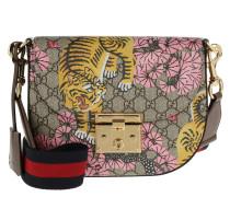 Borsa Padlock Bengal Shoulder Bag Beige/Ebony Umhängetasche