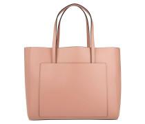 Kim Shopping Bag Pelle Calf English Rose Umhängetasche