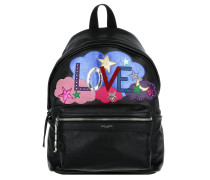 City Love Backpack Black / Multi Rucksack