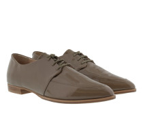 Ismene Derby Lace Patent Leather Grey