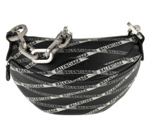 Souvenir Belt Bag Leather Black/Grey/Green Tasche
