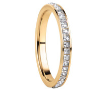 Ring Women Stainless Steel Gelbgold