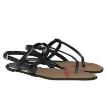Ingledew Sandale Patent Black Sandalen