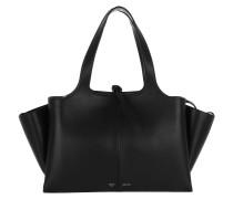 Tri-Fold Medium Shopper Black Umhängetasche schwarz