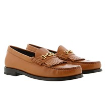 Schuhe Luco Triomphe Loafer Leather Tan