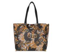Shopper Reversible Shopping Bag Leather Multicolor