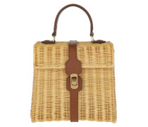 Satchel Bag Denebola Handle Bag Brule braun