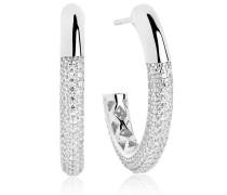 Ohrringe Cannara Grande Earrings White Zirconia 925 Sterling Silver