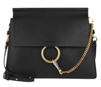 Faye Tote Bag Grainy Black Satchel