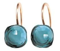 Ohrringe Earrings Happy Holi Topas London Blue Cabochon