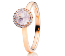Ring Espressivo Rose Gold Quartz Milky