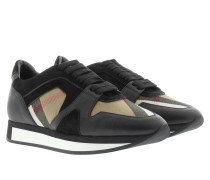Sneakers - Sneaker Field House Check Leather Black