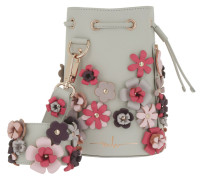 Kasper Flowers Bucket Bag Grey/Purple/Pink Beuteltasche