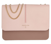 Studded Satchel Bag Butterfly Rose / Multicolor