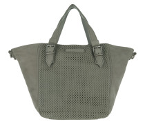 Dominique Woven Sheep Shoulder Bag New Flint Tote braun