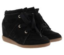 Bobby Sneakers Velvet Stainer Basket Black Schuhe