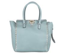 Valentino Tasche - Rockstud Shopping Tote Light Blue - in blau - Henkeltasche für Damen
