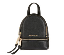 Rhea Zip XS Messenger Backpack Black Rucksack