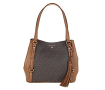 Satchel Bag Large Shoulder Tote Brown/Acorn
