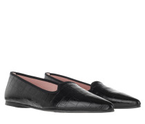 Ballerinas Ella Leather Negro