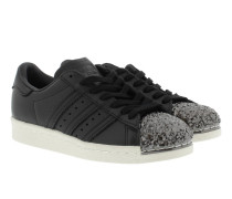 Superstar 80S 3D Metallic Sneaker Black