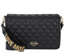 Quilted Nappa Shoulder Bag Nero