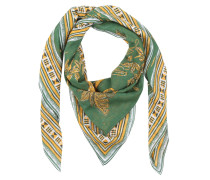 Schal - Elefant Scarf Green/Yellow