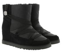 Boots W Classic Femme Lace-Up Black