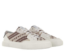 Sneakers Chain Tennis Light Low Beige/White