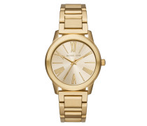 Armbanduhr - Runway Stainless Steel Gold-Tone Watch