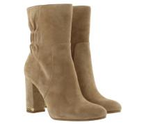 Boots & Booties - Dolores Bootie Suede Dark Khaki