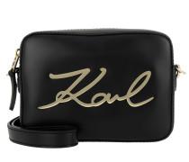 K/Signature Camera Bag Black Umhängetasche