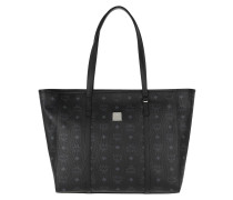 Shopper Toni Visetos Medium Black