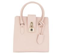 Medium Padlock Handbag Butterfly Rose2 Tote