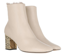 Boots Leather Ivory