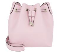 Minibag Bucket Bag Malva Beuteltasche rosa
