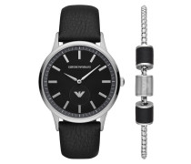 Uhr Men Renato Watch Set Silver