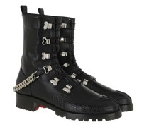 Boots & Stiefeletten Low Chain Leather