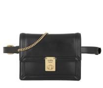 Gürteltasche Leather Signature Parker Belt Bag Black