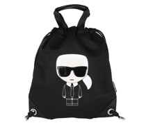 Rucksack K/Ikonik Nylon Flat Backpack Black
