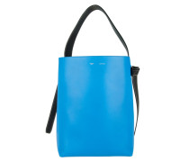 Tasche - Small Twisted Upright Tote Blue