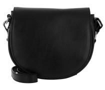 Hudson Saddle Bag Black Umhängetasche