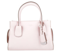 Tasche - Note Leather Tote Small Rosa