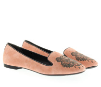 Loafers & Slippers - Suede Slipper Rose