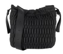 Caos S Drawstring Onyx Hobo Bag