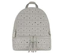 Rhea Zip MD Backpack Gold Pearl Grey Rucksack