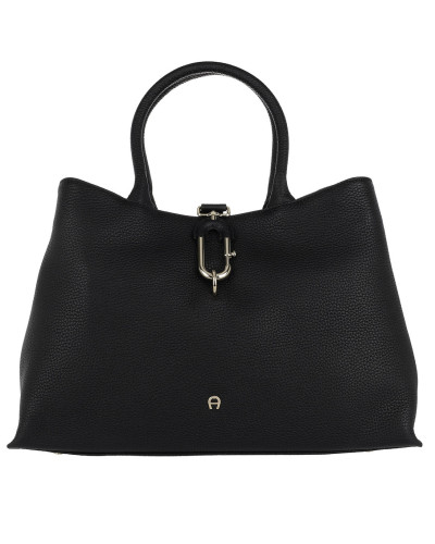 Aigner Damen Romy Tote Handbag M Black Henkeltasche